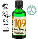 Naissance Teebaumöl Bio (Nr. 109) 50ml - 100% naturreines ätherisches Öl, natürlich, Bio-Zertifiziert, vegan