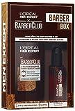 L'Oréal Men Expert Barber Club Herren Bartpflege Geschenkset, mit Bartshampoo für schonende Reinigung (200 ml) und Bartöl für Pflege (30 ml)