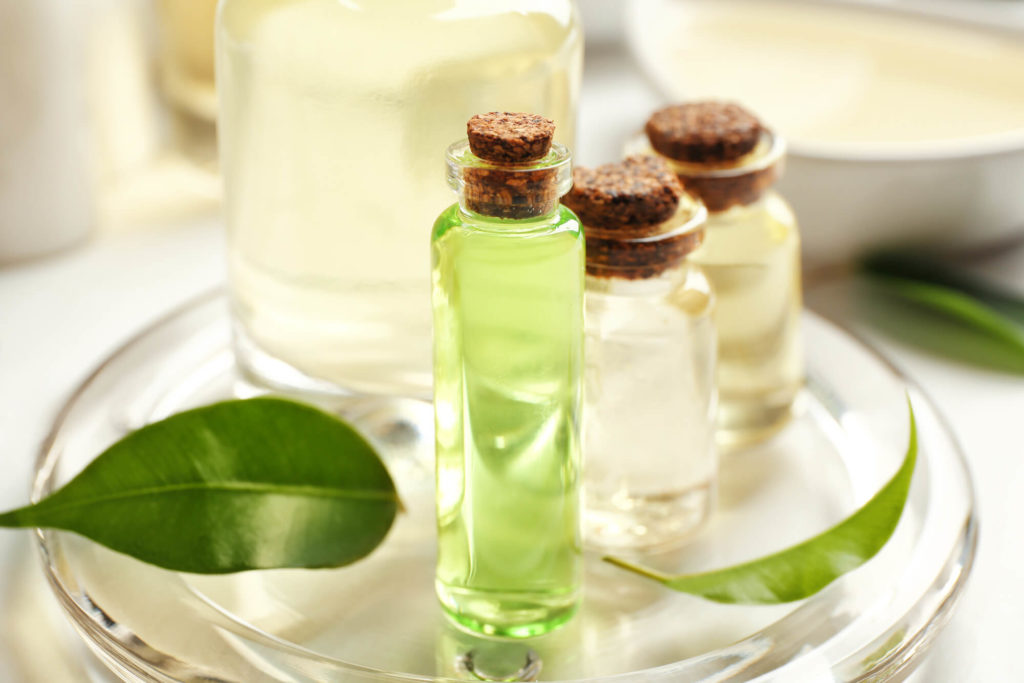 Teebaumöl zur Bartpflege